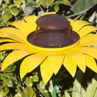 Giant Yellow Sunflower Bird Feeder - Ultimate Innovations