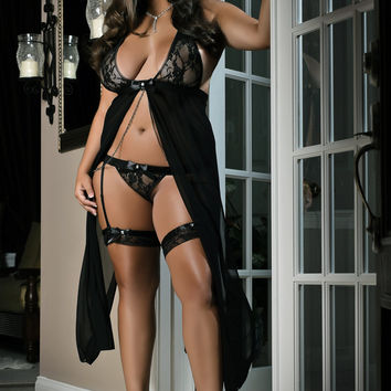 Sexy Night In Lingerie Dress