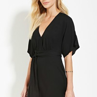 Contemporary Belted Mini Dress