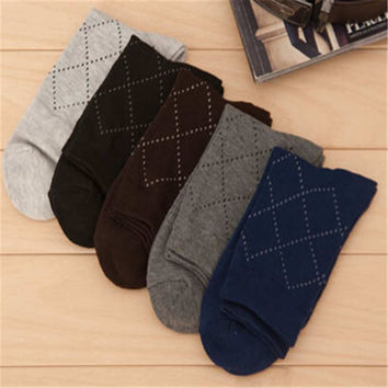 2016 New Mens Comfortable Spring Casual Sports Warm Stockings (5 PCS) Socks-39