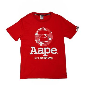 Cheap Women's and men's aape t shirt for sale 501965868-050