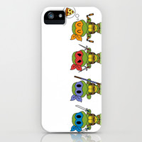 TMNT Chibis iPhone & iPod Case by Katie Simpson | Society6