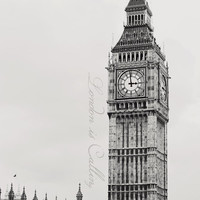 London is Calling Art Print by Kate Perry   Society6