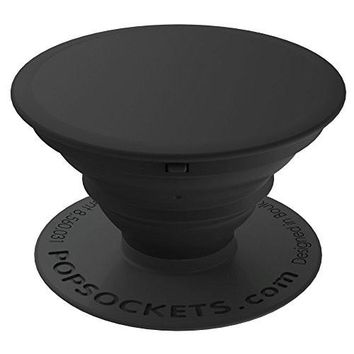 PopSockets: Expanding Stand and Grip for Smartphones and Tablets - Black