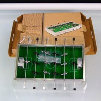Mini Desktop Soccer Game Tabletop Crafted Imports Foosball Sport Game New Boxed