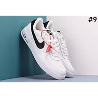 NIKE AIR FORCE 1 Tide brand retro hit color men and women models wild sports shoes #9