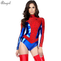 Red Spiderman Costume Batman SuperWomen Halloween costumes for Women Anime cosplay Carnival Costume Sensible Seductress