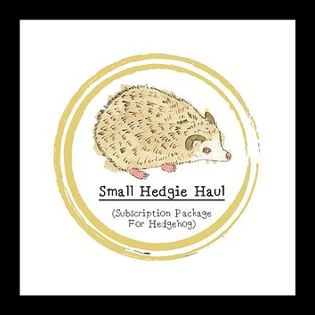 Small Hedgie Haul │ Hedgehog │ Subscription