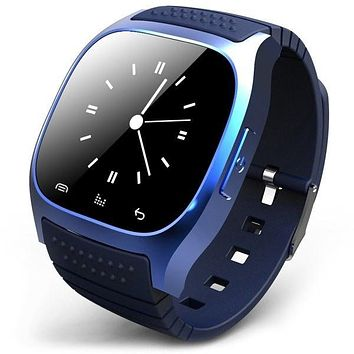 Bluetooth Smart Watch LED Light Display Anti-lost for Samsung HTC Mobile phone = 1842802500