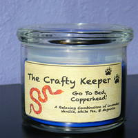 Go to Bed, Copperhead! Candles for Conservation