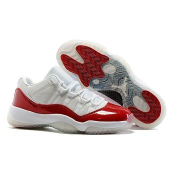 Air Jordan 11 Low Varsity Red Basketball Shoes