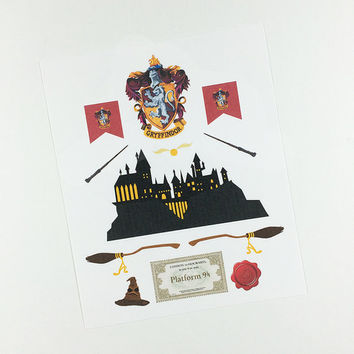 ECLP   Harry Potter   Gryffindor House   11 stickers