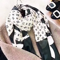 LV Fashion New Monogram Print Leisure Scarf Women