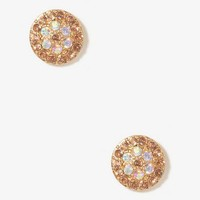 Iridescent Circle Studs | FOREVER 21 - 1031557057