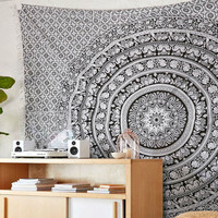 Shopnelo Elephant Mandala Tapestry, Hippie Tapestries, Wall Tapestries, Tapestry Wall Hanging, Indian Tapestry, Bohemian Bedding Psychedelic tapestry Size 60 x 85 Inch's