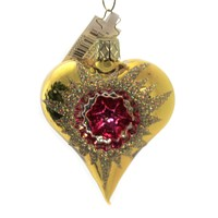 Inge Glas Reflector Heart Love Valentine's Day - 10220S019 GOLD