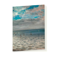 "Delacroix ""The Sea from the Heights of Dieppe"" - Notebook"