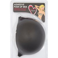 Black Strapless & Backless Adhesive Push-Up Bra by Charlotte Russe