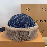 Louis Vuitton LV Fleecy Classic To keep warm Bucket hat