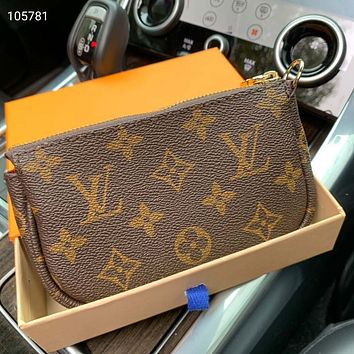 Louis Vuitton LV Chain Mini Coin Purse