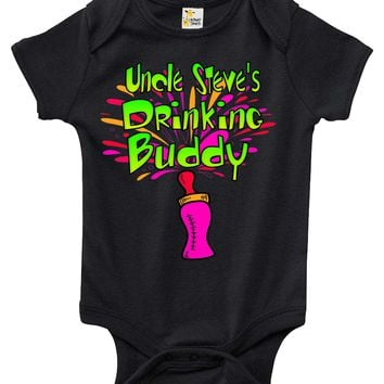 Baby Bodysuit - Custom Personalized Drinking Buddy with Your Name of Choice
