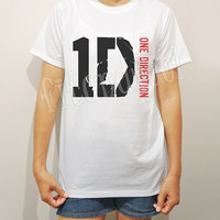 1D TShirts One Direction TShirts Rock Tee Shirts Music TShirts Men TShirts Unisex TShirts Women TShirts Short Sleeve TShirts - Size S M L