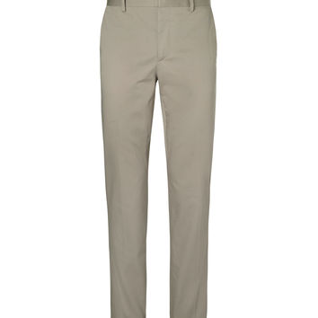 Paul Smith London - Slim-Fit Stretch-Cotton Twill Trousers