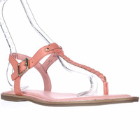 Sperry Top-Sider Virginia T-Strap Ankle Strap Sandals - Coral