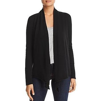 Aqua Cashmere Draped Open-Front Cashmere Cardigan - 100% Exclusive $198