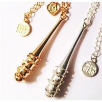 The Love and Madness Walking Dead Lucille Necklace