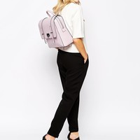 New Look Lilac Boxy Backpack