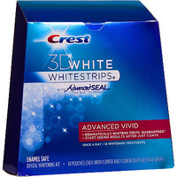 3D White Whitestrips Advanced Seal Vivid 14 Ct