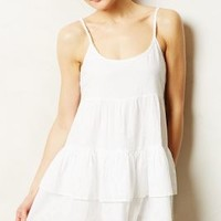 Trevi Tiered Chemise by Lili's Closet White