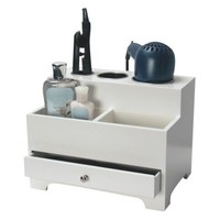 Richards Homewares Personal Hair Styling Organizer - White