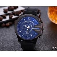 Diesel 2018 new trend fashion boys large dial quartz watch F-JYXCX-Y #4