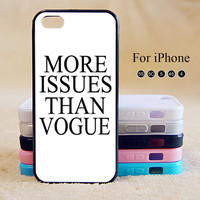 More Issue than vogue,iPhone 5 case,iPhone 5C Case,iPhone 5S Case, Phone case,iPhone 4 Case, iPhone 4S Case,Case