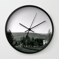 Old Road Wall Clock by Emilytphoto