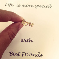 """Petite """"Love"""" Knuckle Ring"""