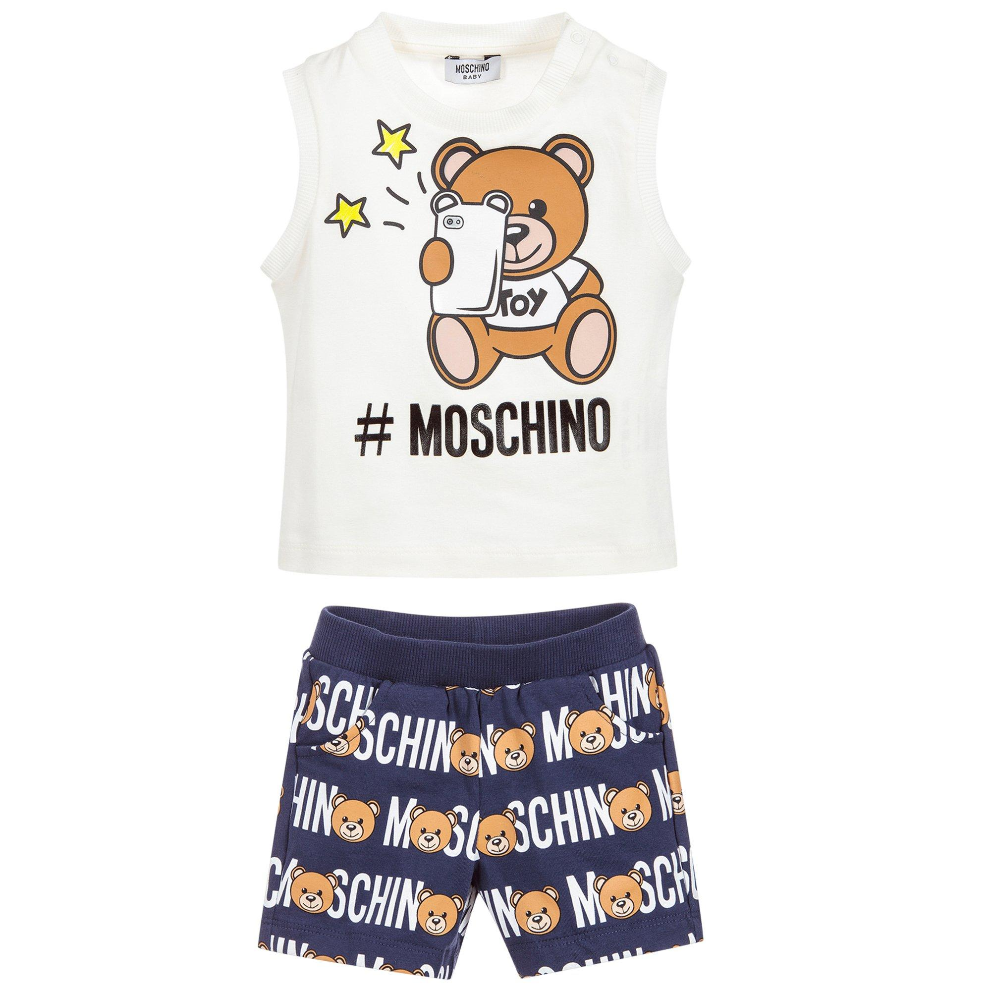 Image of Baby Unisex Top with Shorts Set