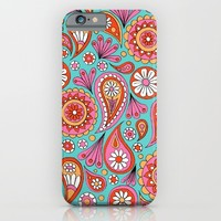 Paisley Floral iPhone & iPod Case by Sarah Oelerich