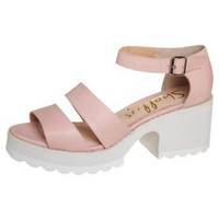 Shellys SHIBUYA - Platform sandals - pink - Zalando.co.uk