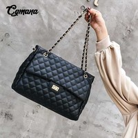 Big Bag 2019 Large Shoulder Women Travel Bags PU Leather Quilted Bag Female Luxury Handbags Women Bags