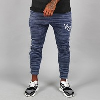 Vanquish Fitness Flux Tapered Sweatpants in Sapphire Blue