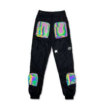 Turbulence 3D Reflective Pants