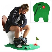 1Set Bathroom Funny Golf Mini Game