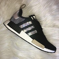 simpleclothesv ADIDAS Women Running Sport Casual Shoes NMD Sneakers Shining H-MDTY-SHINING