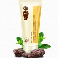 volcanic mud Whitening Moisturizing Cleanser  Facial Care,Gentle Exfoliating Cleansing Skin Care Face Washing Product SBF010