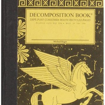 Pegasus Pocket-size Decomposition Book: College-ruled Composition Notebook With 100% Post-consumer-waste Recycled Pages