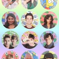 BABES OF TV BUTTONS II