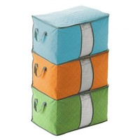 Colored Quilt Storage Organizer Bags